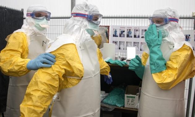 Udhëzues Siguria dhe shëndeti i punonjësve shëndetësor të ekspozuar ndaj EBOLA-s gjatë kryerjes të punës së tyre profesionale