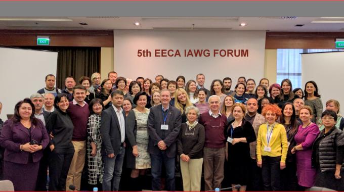 Information sur le cinquième Forum de l'Inter-agence du Groupe de travail sur l'Europe de l'Est et en Asie centrale pour la santé sexuelle et reproductive dans les situations de crise